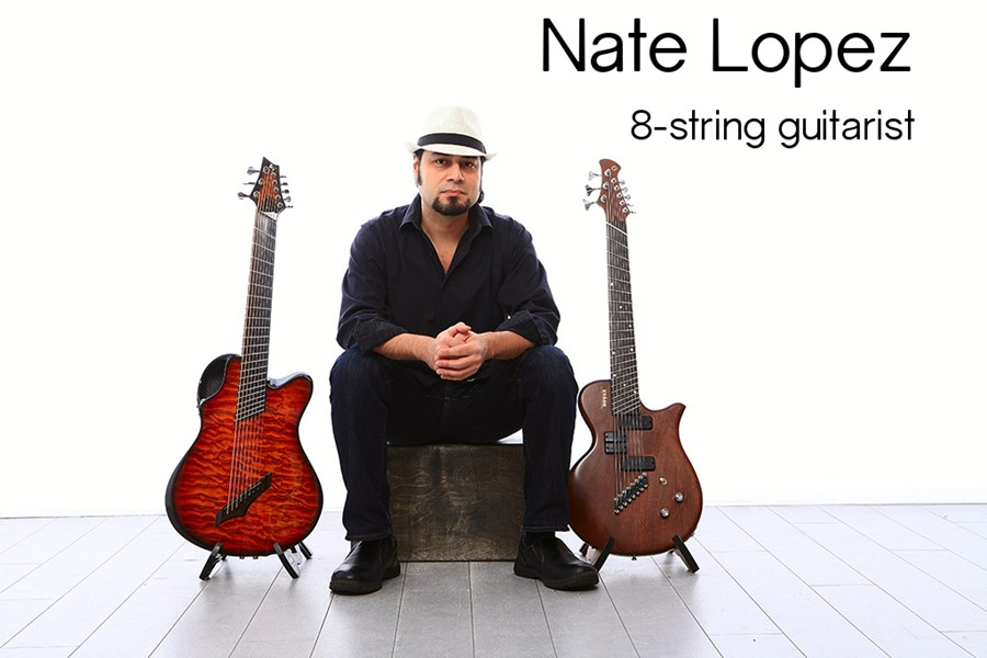Nate Lopez 7 And 8 String Guitarist - Pop Acoustic Guitarist - Santa Rosa, CA