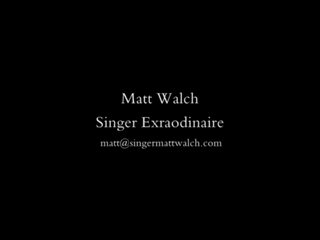 Matt Walch - Standards/Big Band Singer | Scottsdale, AZ | Big Band Singer | Wedding Video