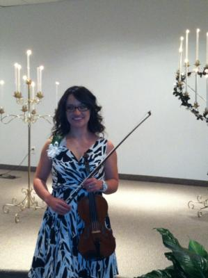 April Dean Mcconnell | Charlotte, NC | Violin | Photo #2