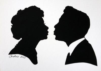 Silhouettes By Candice | Sherman Oaks, CA | Silhouette Artist | Photo #5