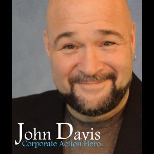 Centre Hall Motivational Speaker | John Davis: The Corporate Action Hero