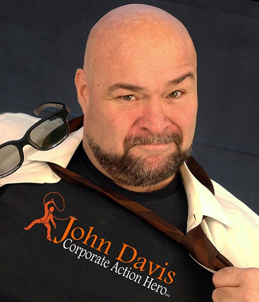 John Davis:Corporate Action Hero - Motivational Speaker - Orlando, FL