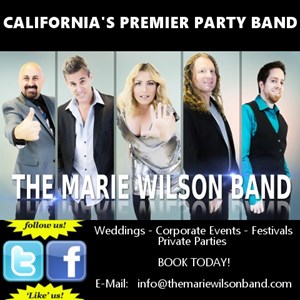 Terra Bella 80s Band | The Marie Wilson Band