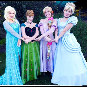 Caledonia Princess Party | Premier Princess Parties