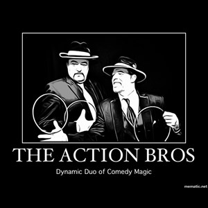 "Louisville Comic Ventriloquist | The Action Bros. ""Dynamic Duo of Comedy Magic"""