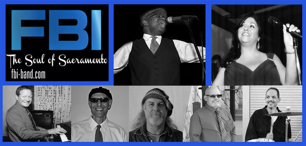 FBI BAND - The Soul of Sacramento - Motown Band - Sacramento, CA