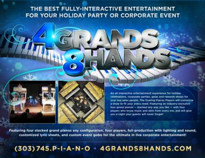4 GRANDS / 8 HANDS DUELING PIANOS | Denver, CO | Pop Dueling Pianos | Photo #6