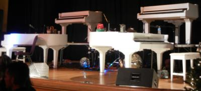 4 GRANDS / 8 HANDS DUELING PIANOS | Denver, CO | Pop Dueling Pianos | Photo #5