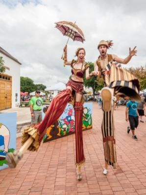 Greenheart Creative  | Austin, TX | Stilt Walker | Photo #3