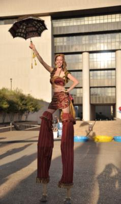 Greenheart Creative  | Austin, TX | Stilt Walker | Photo #20