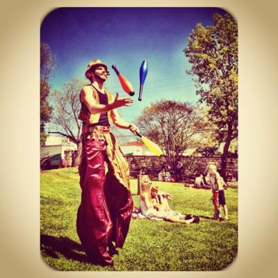 Greenheart Creative  | Austin, TX | Stilt Walker | Photo #8