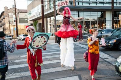 Greenheart Creative  | Austin, TX | Stilt Walker | Photo #24