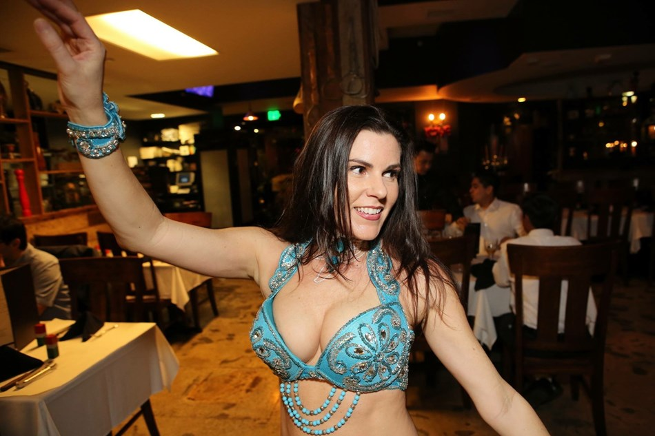 Belly Dancing at Gauchos Village!