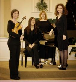 Belinda with fellow musicians