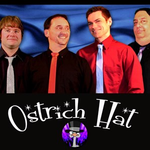 South Gibson 80s Band | Ostrich Hat