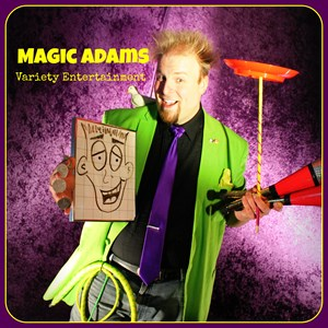 Springfield Comic Ventriloquist | Magic Adams