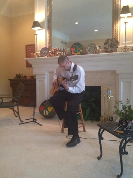 PaulGregoryWhitt-Solo Guitar - Flamenco Acoustic Guitarist - Columbus, OH