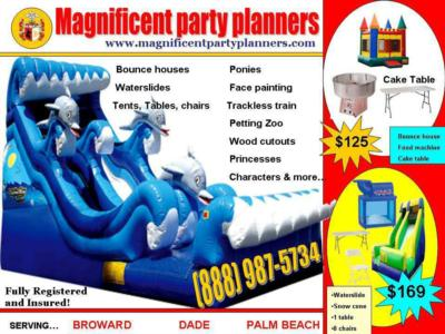 Magnificent party planners  | Fort Lauderdale, FL | Bounce House | Photo #24