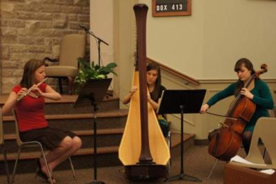 The Soenen Sisters - Harp, Flute, and Cello | Hamilton, ON | Classical Trio | Photo #4