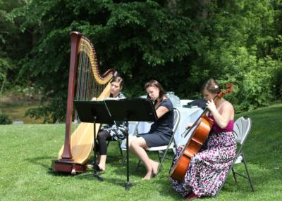 The Soenen Sisters - Harp, Flute, and Cello | Hamilton, ON | Classical Trio | Photo #3