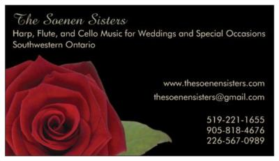 The Soenen Sisters - Harp, Flute, and Cello | Hamilton, ON | Classical Trio | Photo #17