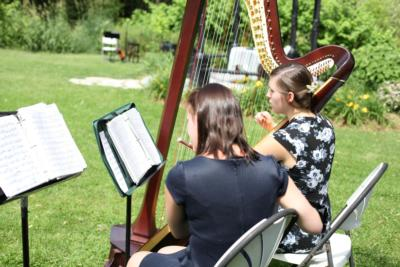 The Soenen Sisters - Harp, Flute, and Cello | Hamilton, ON | Classical Trio | Photo #6