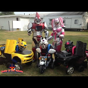 Hawkinsville Party Inflatables | Robot