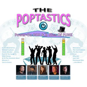 The Poptastics  -  Power-on Pop & a slice of Funk! - Dance Band - Sacramento, CA