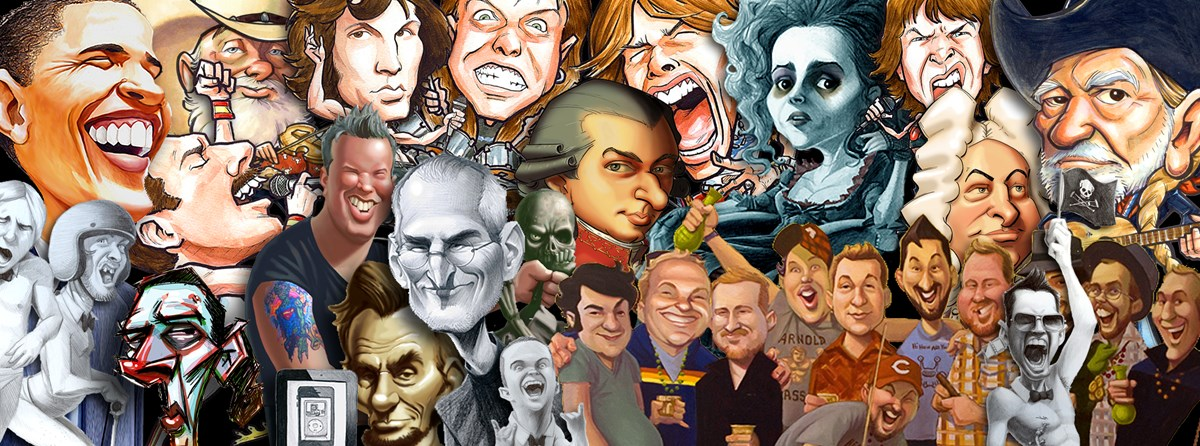 Caricatures by Michael Graessle