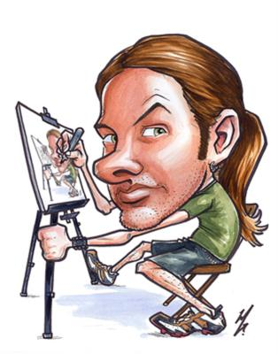 Caricatures by Michael Graessle | Brooklyn, NY | Caricaturist | Photo #1