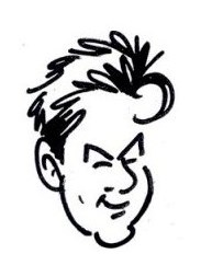 McDaniel Caricaturist | Paul Merklein draws Great Big Faces