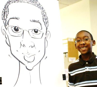 Paul Merklein draws Great Big Faces! | Washington, DC | Caricaturist | Photo #9
