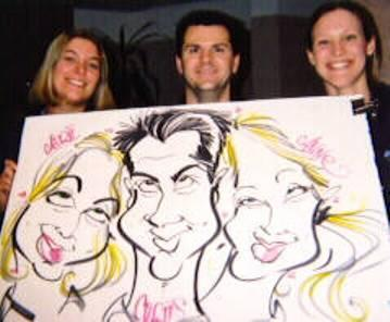 Paul Merklein draws Great Big Faces! | Washington, DC | Caricaturist | Photo #3
