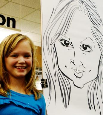 Paul Merklein draws Great Big Faces! | Washington, DC | Caricaturist | Photo #8