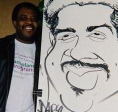 Paul Merklein draws Great Big Faces! | Washington, DC | Caricaturist | Photo #2