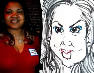 Paul Merklein draws Great Big Faces! | Washington, DC | Caricaturist | Photo #4