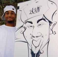 Paul Merklein draws Great Big Faces! | Washington, DC | Caricaturist | Photo #7