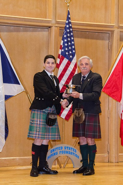 Campbell Webster - Bagpiper - Concord, NH