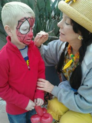Blair Family Fun Troop | Tampa, FL | Face Painting | Photo #7