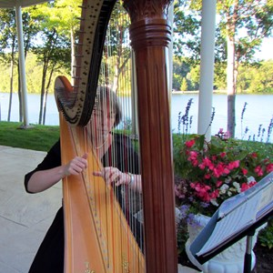New Haven Harpist | Jane Hogarth Minnis