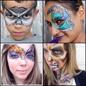 Lindenhurst, NY Face Painter | Fabulous Faces by Kellie