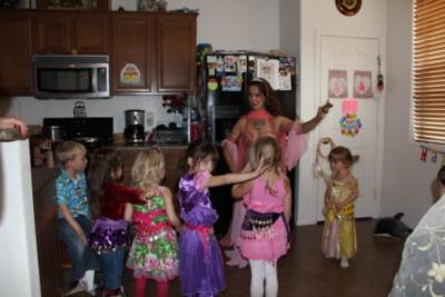 Princess Jasmine & Face Painting Party | Las Vegas, NV | Face Painting | Photo #6