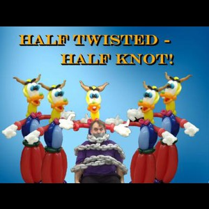 South Wayne Clown | Half Twisted - Half Knot