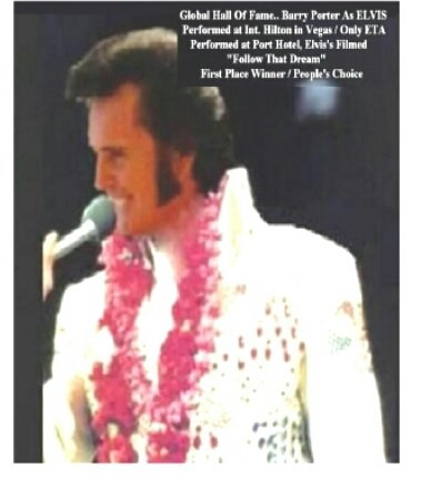 Barry Robert Porter... FEEL ELVIS ALL OVER AGAIN!! - Elvis Impersonator - Orlando, FL