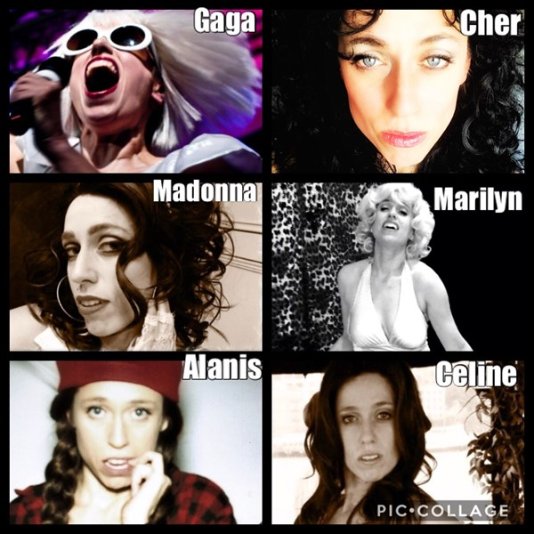 Gaga, Marilyn, Celine, Cher & more - Athena Reich - Impersonator - Toronto, ON