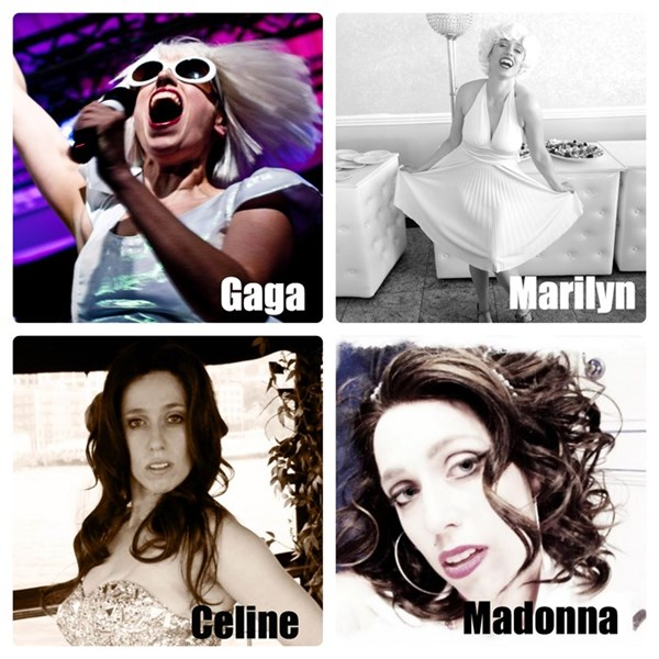 Gaga, Marilyn, Celine & more - Athena Reich - Lady Gaga Tribute Act - Toronto, ON