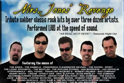 Mrs. Jones' Revenge | Temecula, CA | Classic Rock Band | Photo #21