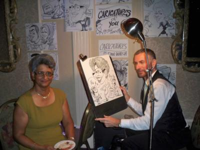 Caricatures by Dan Walsh | Toronto, ON | Caricaturist | Photo #22