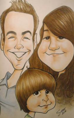SiderArt | Harrisburg, PA | Caricaturist | Photo #5