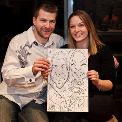 SiderArt | Harrisburg, PA | Caricaturist | Photo #2